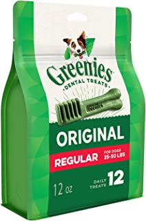 Greenies Original Dental Chews Dog Treat Pack 340 g
