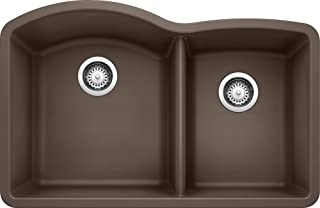 BLANCO 440177 Diamond 1-3/4 Bowl-Cafe Sink, One Size, Café Brown