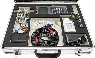 Hanchen Ultrasonic Flow Meter TDS-100H-M2+S1 (DN15-700mm) Handheld Liquid Flowmeter Sensor with CD