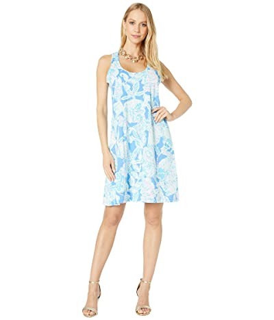Lilly Pulitzer Melle Dress (Blue Haven Pop UP Into The Deep) Women