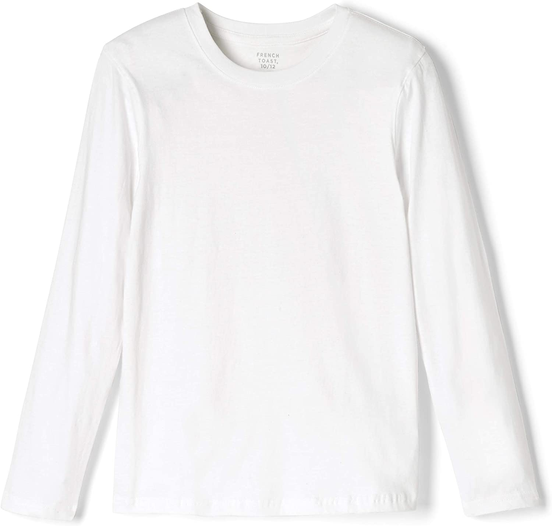 French Toast Boys' Long Sleeve Crewneck Tee T-Shirt