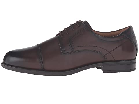 SmoothCognac Black SmoothBrown Cap Oxford Smooth Toe Florsheim Midtown qwf7pp