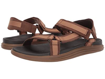 Sperry Regatta 2-Strap Sandal (Brown/Tan) Men