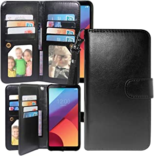 Harryshell S7 Active Case, Luxury 12 Card Slots Shockproof PU Leather Wallet Flip Protective Case Cover with Wrist Strap for Samsung Galaxy S7 Active SM-G891A (A-2)