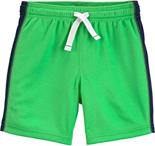 Carter's | Toddler Active Boy's Girl's Breathable Mesh Drawstring Shorts 5t Green
