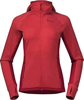 Bergans Stranda Insulated Hybrid W Jacket Rot Damen