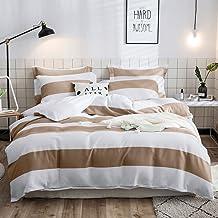 Lausonhouse 100% Cotton Waffle Weave Quilt Cover Set - Linen - King