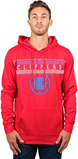 Ultra Game NBA Men's Fleece Hoodie Pullover Sweatshirt Poly Midtown