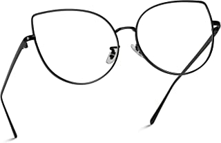 Clear Thin Frame Oversized Delicate Glasses