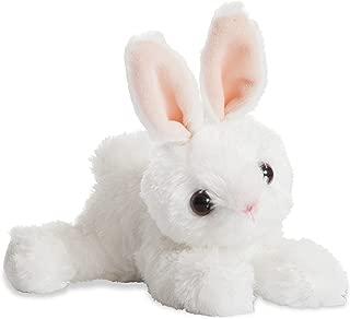 Aurora World Mini Flopsie Bunny Plush Toy (White)