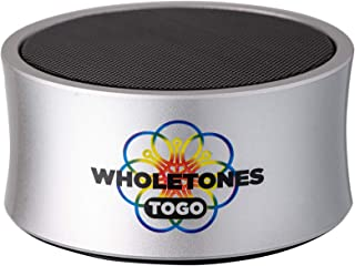 Wholetones to Go (2nd Gen) - Portable Relaxing Music Player with 7 Looping Frequency Enhanced Songs, Timer, Bluetooth, Rec...