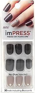 Kiss imPress Special FX Gel Manicure - Goal Digger (Chocolate)