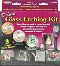 Armour Deluxe Glass Etching Kit glass etching kit