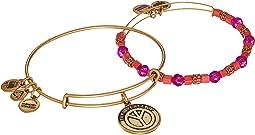 Turn Peace Up® Set of 2 Bracelet