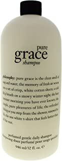 Philosophy Pure Grace Perfumed Gentle Daily Moisturizing Shampoo with Pump - Limited Edition Luxury Size - 32 ounces / 946 milliliters