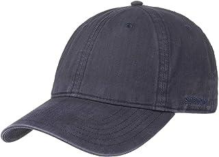Stetson Ducor Sun Guard Fullcap Uomo - Cappellino da Baseball in Cotone bio (sostenuto) - Primavera/Estate - Protezione UV...