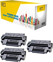 NYT Compatible MICR Toner Cartridge Replacement for 92298A for HP Laserjet 4 4+ 4M 4M+ 5 5M 5N 5se (Black,3-Pack)