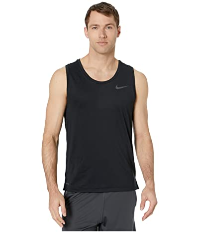 Nike Top Tank Hyper Dry (Black/White) Men
