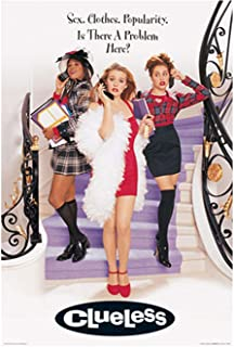Picture Peddler Laminated Clueless Movie Poster 24x36 inches