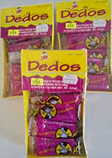 3 X DEDOS INDY SPICYSOUR MEXICAN CANDY