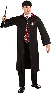 Harajuku Lovers Harry Potter Adult Gryffindor Robe X-Large Black
