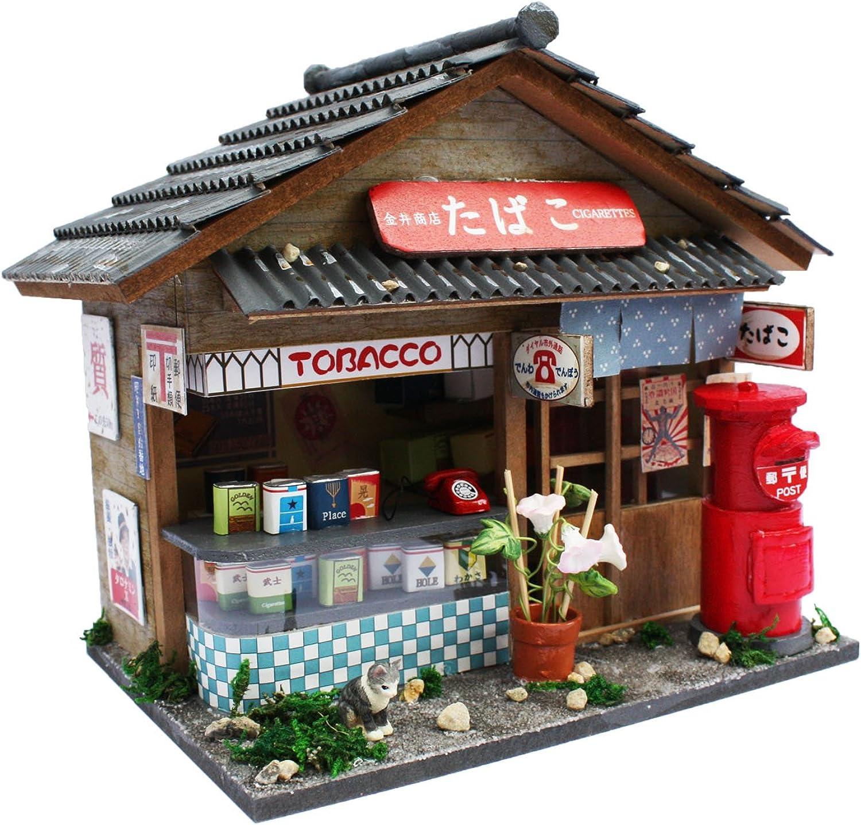 Billy Tobacco shop doll house handcraft kit (Japan Import)