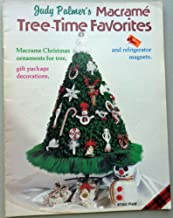 Judy Palmer's Macrame Tree-time Favorites Macrame Christmas Ornaments for Tree, Gift Package Decorations, and Refrigerator Magnets (Plaid, #7455)