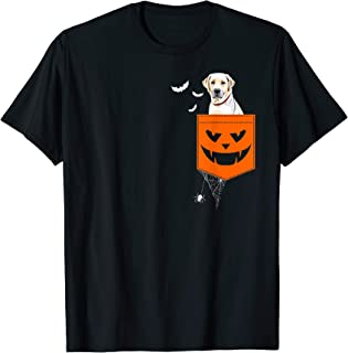 Labrador Pocket Halloween Costume Funny Gift Ideas T-Shirt