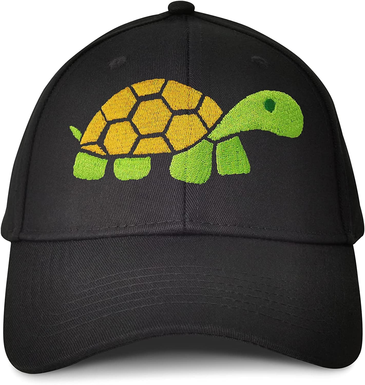 Big Turtle Embroidered Baseball Caps