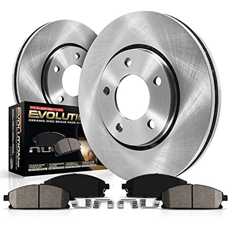 OE Series Rotors + Ceramic Pads KT035143 Max Brakes Front /& Rear Premium Brake Kit Fits: 2007 07 2008 08 2009 09 Honda Civic Sedan Si Models