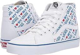 (I heart Vans) True White/True White