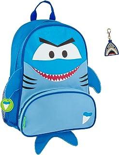 Stephen Joseph Boys Sidekick Shark Backpack and Zipper Pull