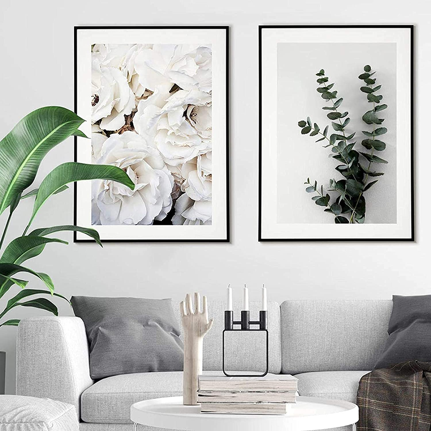 Ornaments Luxury Max 71% OFF goods 2 Piece 15.7x23.6in 40x60cm Frame Modern No Abstract