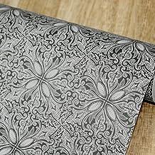 Yifely Vintage Petal Countertop Covering Paper Self-Adhesive Shelf Liner Coffee Table..
