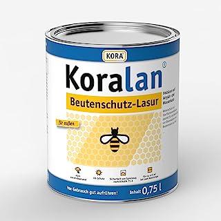 Koralan Beutenschutz Lasur Bienen Farbe Kiefer 750ml
