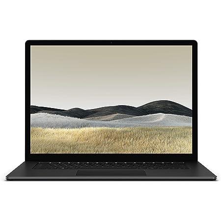 "Microsoft Surface Laptop 3 - Ordenador portátil de 15"" táctil (AMD Ryzen 5-3580U, 8GB RAM, 256GB SSD, AMD Radeon Vega 9, Windows 10 Home) Negro - Teclado QWERTY Español"