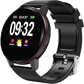JessFash Sport Smart Watch Fitness Watch IP67 Reloj inteligente a prueba de agua Pantalla táctil a color con monitor de ritmo cardíaco Monitor de sueño Monitor de actividad Notificación de llamada Podómetro