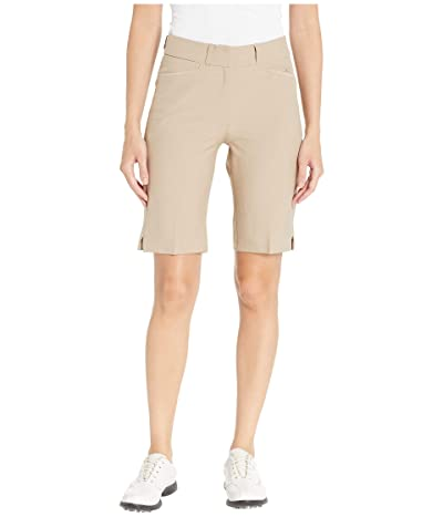 adidas Golf Club Bermuda Shorts (Trace Khaki) Women