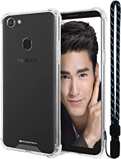 Oppo F5 Case, Mercury [Air Cushion] Crystal Clear Hybrid [Protective TPU Cover & Hard PC Back] for Oppo F5, OPPOF5-CCH