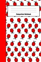 Composition Notebook: Lovely Ladybug Journal / Notepad, Composition Planner To Write In (Lined, 6
