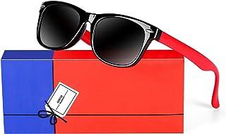 Kids Polarized Boys Girls Sunglasses-GOUDI Rubber Fashion...