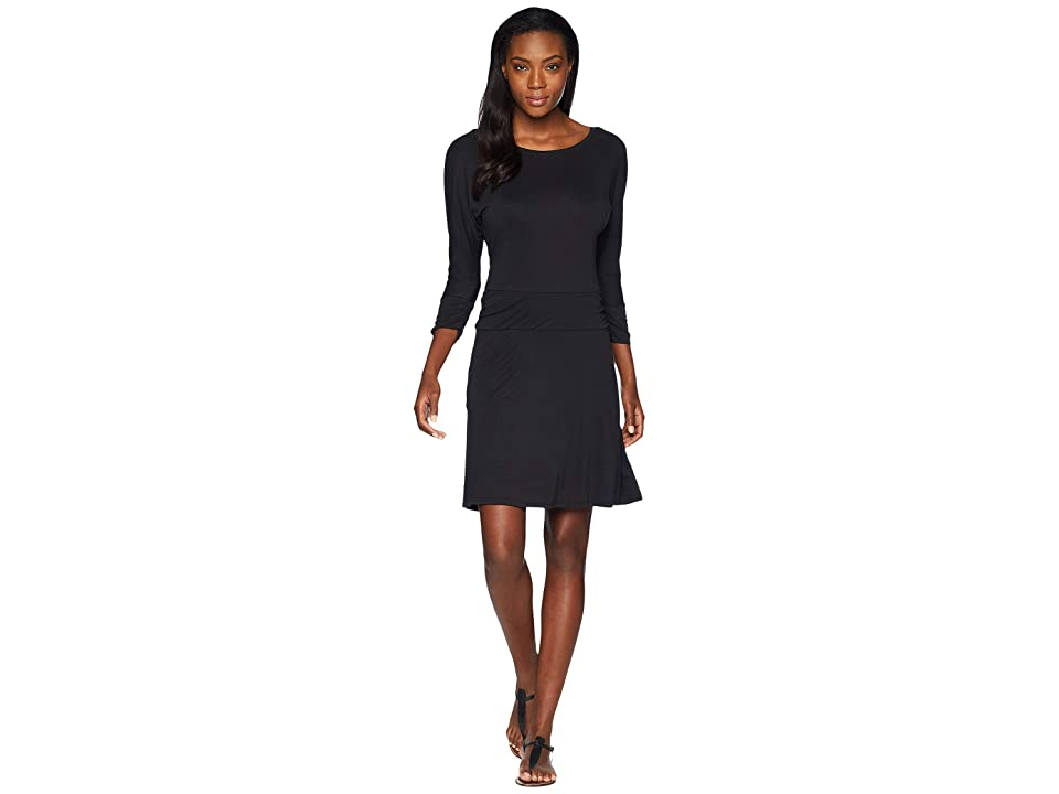 Prana Simone Dress (Black) Women