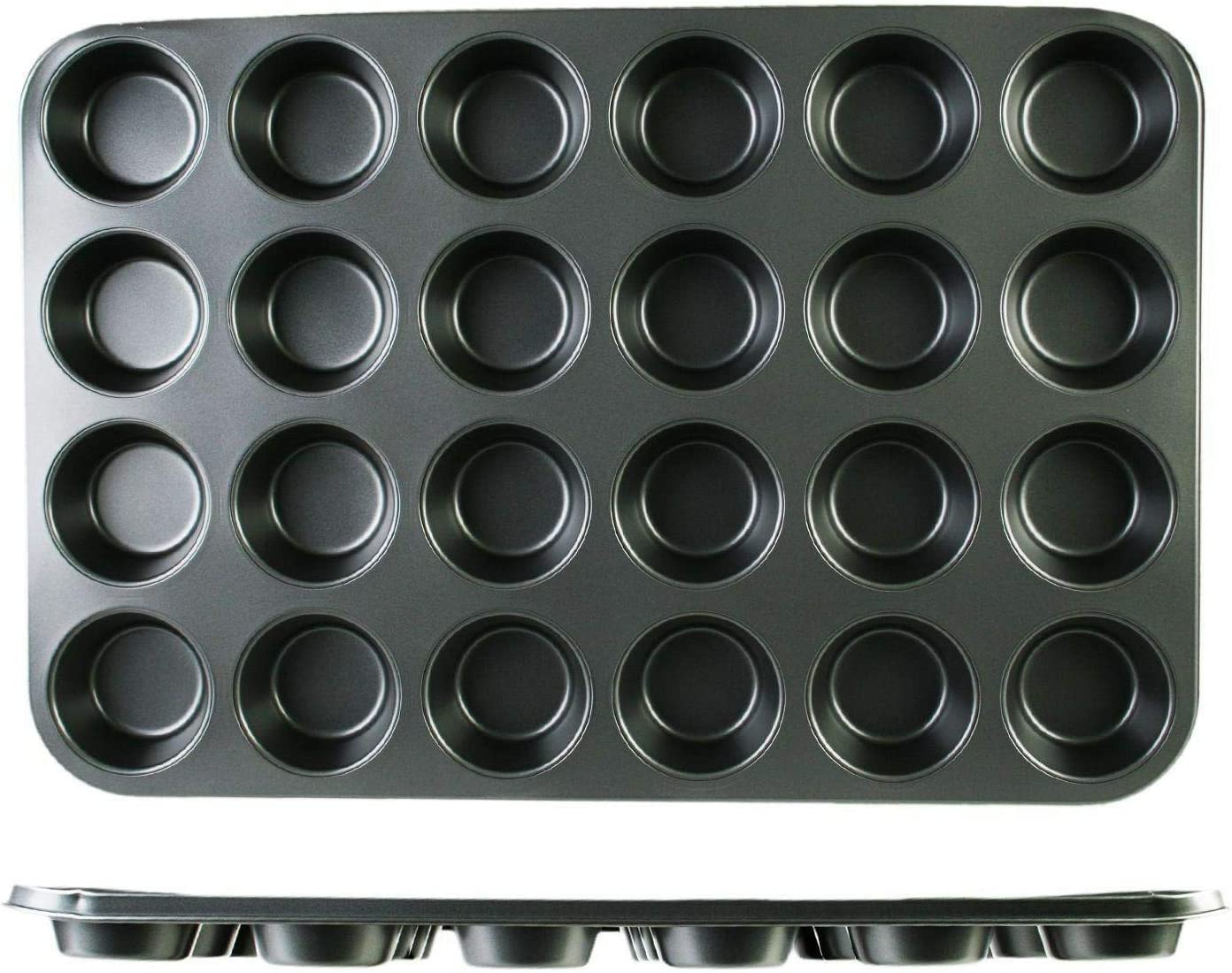 security Nonstick Muffin Pan 24 Standard Cupcake Baking Stainless Cups Ranking TOP13 3