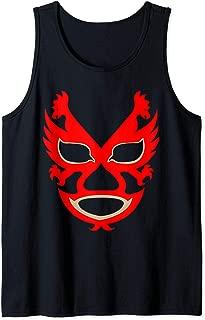 Feel-Ink Dos Caras Lucha Libre Mexican Wrestler Legend Tank Top