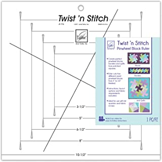 June Tailor JT-775 Twist 'n Stitch Ruler