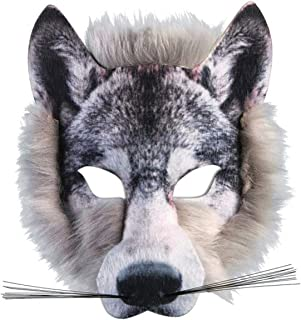 Best grey wolf mask Reviews