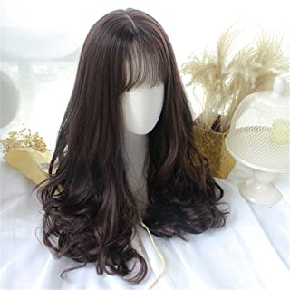 Long Curly Wig Wavy Hair Heat Resistant Wig for Cosplay Party Costume