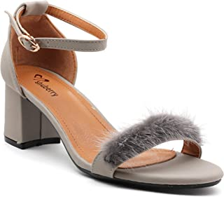Shuberry SB-18037 Faux Leather Sandal for Party