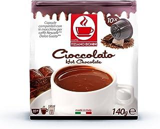 Chocolate, DOLCE GUSTO compatible. 50 cápsulas BONINI