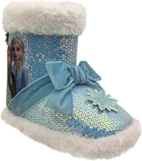 Disney Frozen Boots for Toddler Girls, Girls Slipper Boots, Girls Glitter Boots